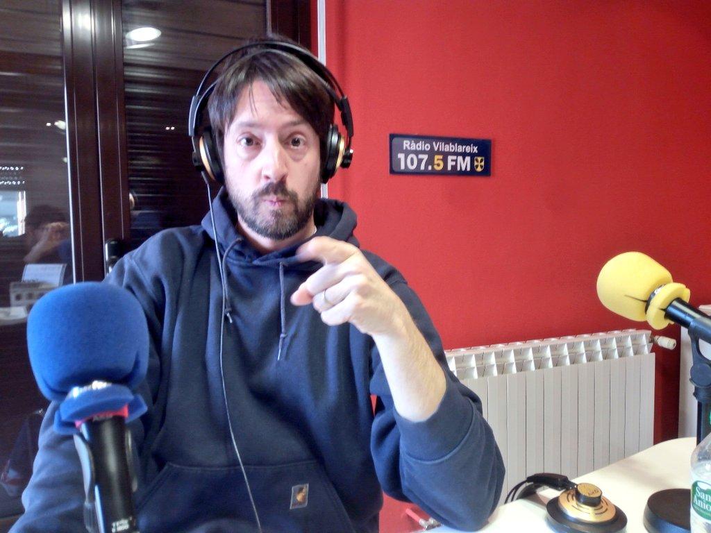 Entrevista Andrés Palomino Ràdio Vilablareix