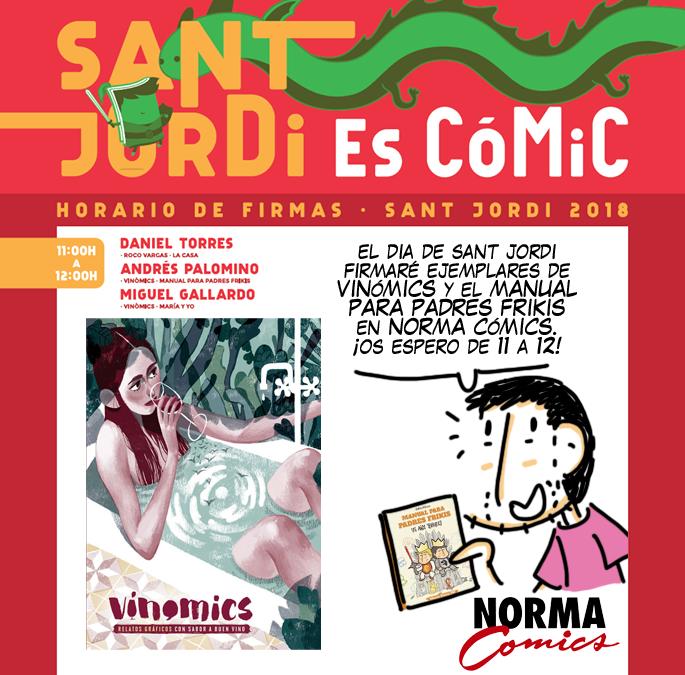 Sant Jordi 2018 Norma Vinomics
