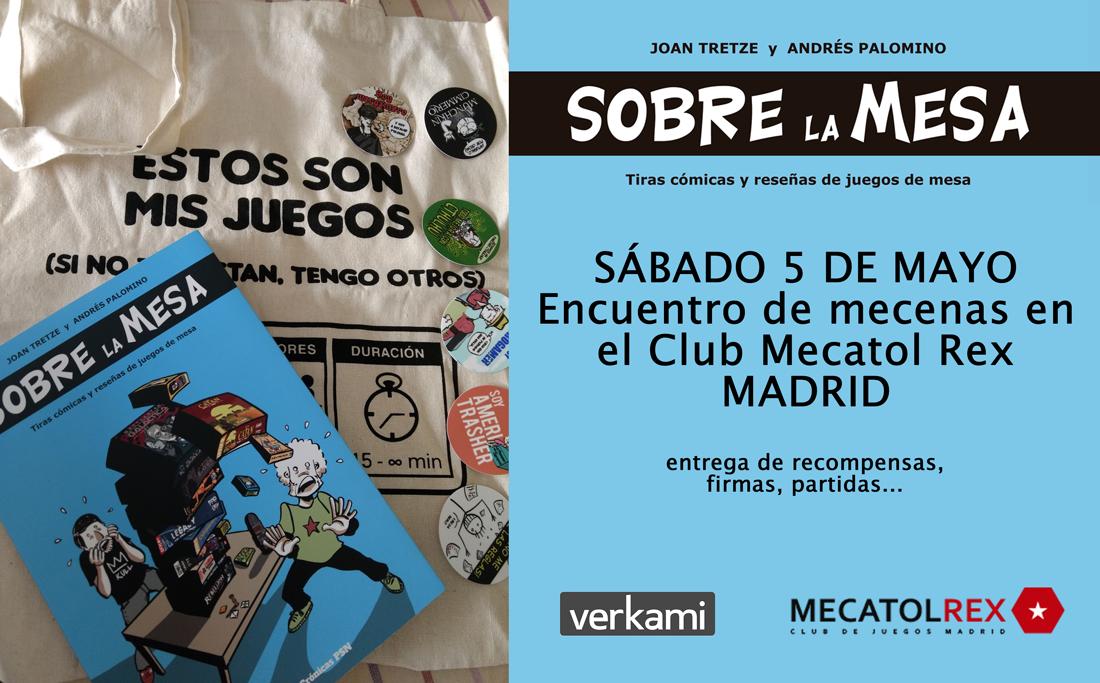 Encuentro Sobre la mesa Madrid