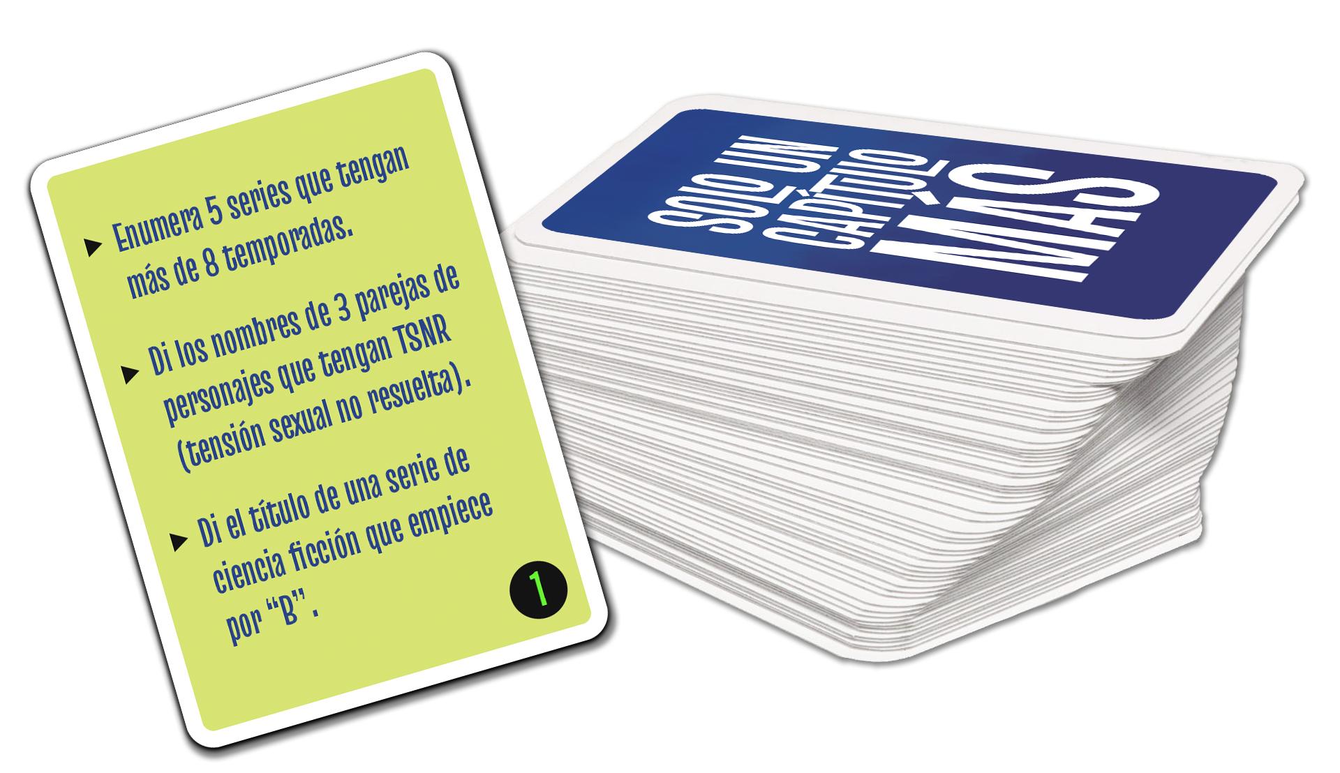 Solo un capítulo más: el juego de cartas, en verkami